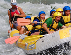 River Rafting in Nepal, white water river fun in Nepal