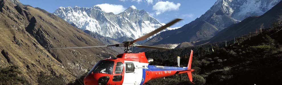 himalayan helicopter sightseeing, helicopter tour in nepal, heli rescue and services in the himalayas