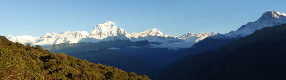 nepal culture tour and trekking, ghorepani-poon hill trekking, poon hill trekking, daman visit, chitwan national park, view from nagarkot